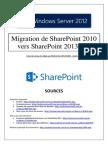 Migration de SharePoint 2010 vers SharePoint 2013 (tuto de A à Z)