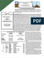St. Joseph May 26, 2013 Bulletin