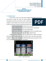 Penetrant Test Report