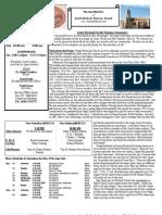 St. Michael's May 26, 2013 Bulletin