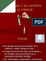 La energía y los cambios de la materia (1)