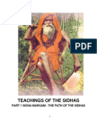 Teachings of the Sidhas - Part 1 - The Path of the Sidhas