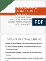 Pantang Larang Pelbagai Kaum Di Malaysia 1