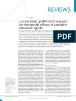 Cell Line-based Platforms to Evaluate Anticancer Agents