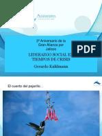 Conferencia Liderazgo Social en Tiempos de Crisis