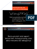 Bab II Ekonomi Islam Dalam Lintas Sejarah