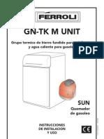Manual Caldera Casa Ferroli