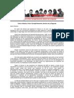 Carta Abierta al Director de La Segunda - JRME - 23 Junio 2013