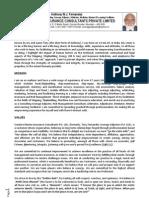 03. Curriculum Vitae of a.W.J. (Tony) Fernandez, 13-Jun-13
