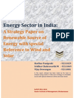 Strategy Paper on Renewable Energy