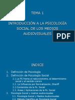 53356174 TEMA1 Introduccion a La Psicologia Social de Los Medios Audiovisuales