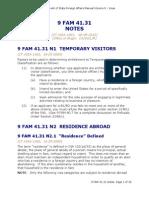 87206 Visa Temporal No Inmigrante