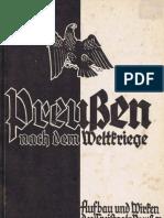 Preußen nach dem Weltkriege