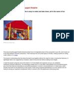 Build a Portable Kids Puppet Theatre