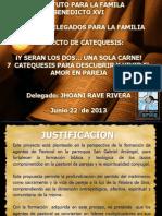 Presentacion Proyecto de Catequesis Junio 22 2013