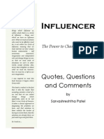 s b Patel QQC Influencer