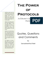 s b Patel QQC Power of Protocols