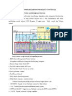 System Configuration for Coal Fired Power Plant Controls