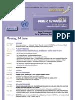 Programme Unctad Public Symposium 24-25 June 2013