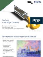 SISlink Keynote Data Analytics in het Hoger Onderwijs 21-06-2013