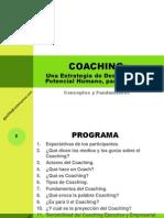 Coaching Conceptos y Fundamentos