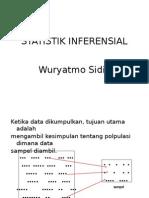 Kuliah Statistik Inferensial 1