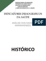 INDICADORES DEMOGRAFICOS DA SAUDE - FINAL.pptx