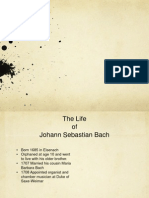 Presentation on the Composer Bach