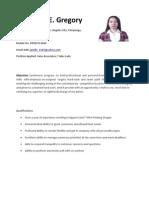 Resume for Sales Associates