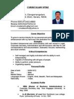 Resume Vinod[1]e