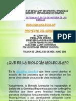 Biolog i a Molecular y Pgh