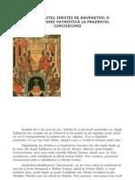 MITROPOLITUL IEROTEI DE NAVPAKTOS O TEOLOGHISIRE PATRISTICĂ LA PRAZNICUL CINCIZECIMII