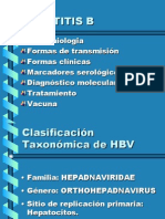 Hepatitis B- Jornadas
