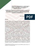 JURISDIÇÃO, RACIONALIDADE E HERMENÊUTICA - COMENTÁRIOS À REPERCUSSÃO GERAL COMO REQUISITO DE ADMISSÃO DOS RECURSOS EXTRAORDINÁRIOS À LUZ DO DEBATE HABERMAS-GADAMER - Paulo Henrique Blair de Oliveira