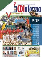 CDInforma, número 2611, 15 de tamuz de 5773, México D.F. a 23 de junio de 2013