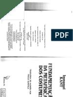 5. Kant - A fundamentação da metafísica dos costumes pp 75-87