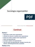 6Organizatiile Si Mediul Extern Organizational & Organizatiile CA Sisteme Rationale Si Deschise & Organizatiile CA Sisteme Naturale Si Deschise