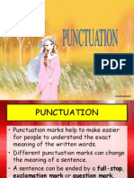 Punctuation PPT