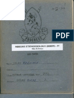 Mbeere Ethnozoology (Birds) - IV