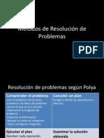 Métodos de Resolución de Problemas