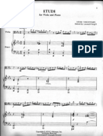 Etude Henri Vieuxtemps Viola & Piano
