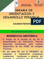 2. Programa de Orientacion y Desarrollo Personal