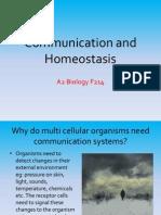 Communication and Homeostasis