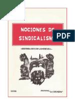 Nociones Del Sindicalismo