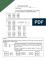Guía evaluada de matemática