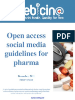 How Pharma Brands use  Social Media