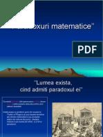 Paradoxuri matematice''