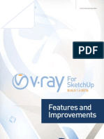 V Ray SketchUp 1.6 BETA Features