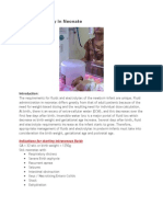 IV Fluid Therapy in Neonate