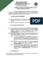Edital Complementar PortadorDiploma20122 Matricula